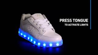 Heelys Premium 1 Lo Light Up Shoes