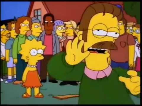 Ned Flanders se enoja con todos (completo) - Los Simpson
