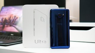 Hello HTC U Ultra! The box doesn't cheap out