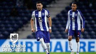 ¡Líderes! 'Tecatito' y Herrera juegan en victoria del Porto ante el Braga en duelo en la cumbre