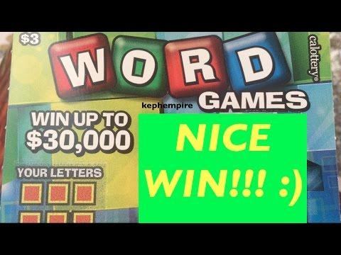 Repeat GREAT WIN!!! Superstar Crossword $5 California Lottery