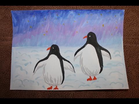 Как нарисовать арктика