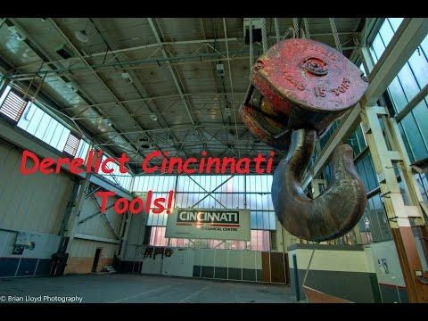 Abandoned Cincinnati Tools Factory - Urban Exploring
