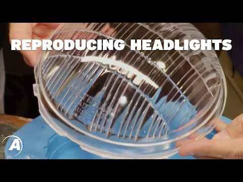 How to use alumilite for headlight restoration & antique car restoration | Alumilite