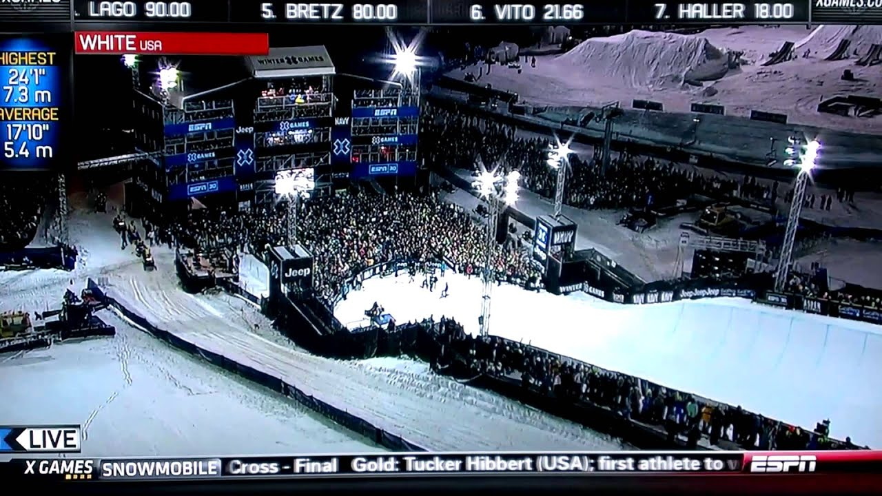 Shaun white snowboarding x games 2013