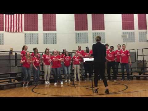 "Cheerleader- Pentatonix cover- ""The Tri-Tones"" from Triton Regional High School"