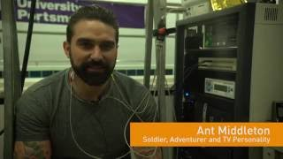 Ant Middleton - Cold Water Shock for the RNLI
