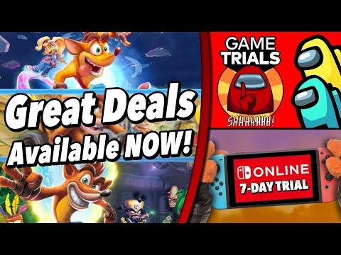 Nintendo Deals Galore!