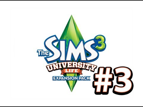 The Sims 3: University Life -  СОН, УЧЕБА, СОН, МАГИЯ - 3 Серия