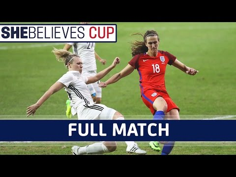 England Women 0-1 Germany Women - 2017 SheBelieves Cup | Full Match