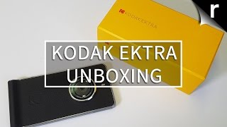Kodak Ektra Unboxing and Hands-on Review