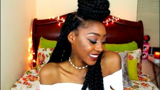 jumbo triangle box braid tutorial