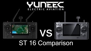 Yuneec ST16 Remote Control Comparison Part 1