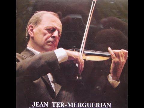 BACH Chaconne BWV 1004   J.Ter-Merguerian   1970s ®
