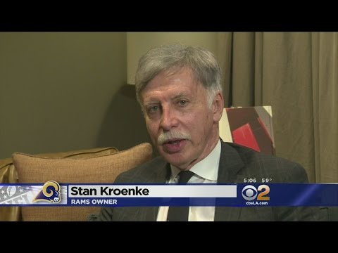 Sports Director Jim Hill Sits Down With Rams Owner Stan Kroenke To Discuss Move