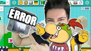 MI ERROR en MARIO MAKER 3DS | Desafio Super Mario