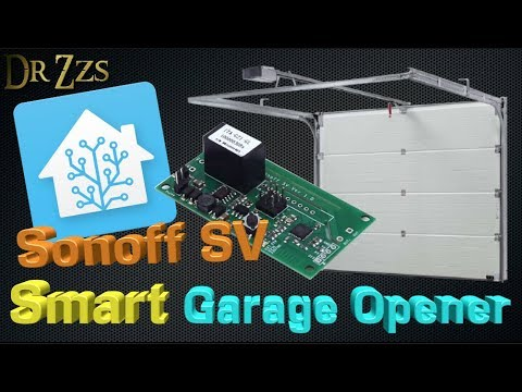 5 Diy Quot Smart Quot Garage Door Opener Using Sonoff Sv Youtube