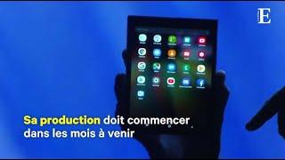 Samsung dévoile son smartphone pliable