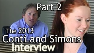 The 2013 Conti and Simons Interview - Part 2 (JW.org)