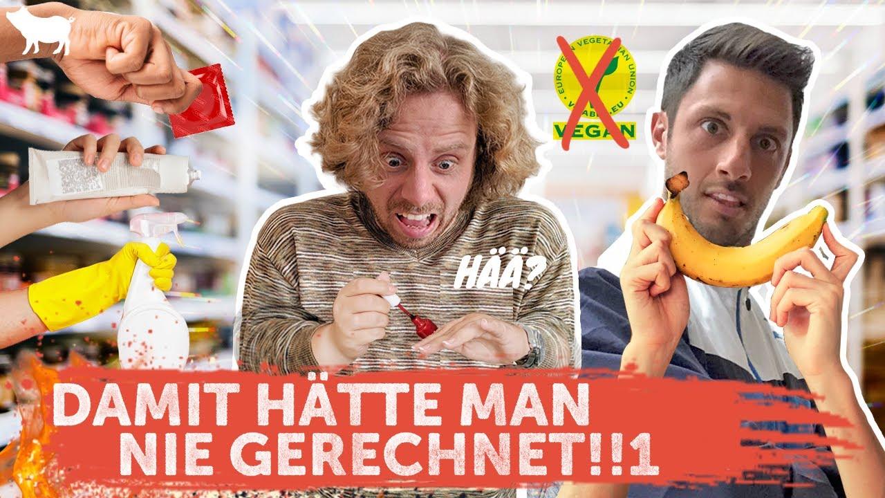 Achtung! Diese 11 Produkte sind nicht vegan