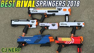 Best Nerf Rival Gun 2018 | Buying Guide Rival Spring Blasters