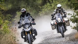 KTM 1050 Adventure vs Suzuki V-Strom 1000 - Test [ENGLISH SUB] thumbnail