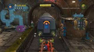 LEGO Batman 2 DC Super Heroes 100% Guide - Underground Retreat (All Minikits, Citizen in Peril)