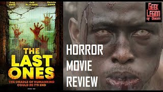 LAST ONES OUT ( 2016 Greg Kriek ) South African Zombie Horror Movie Review
