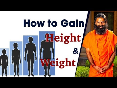 How to Gain Height & Weight | Swami Ramdev