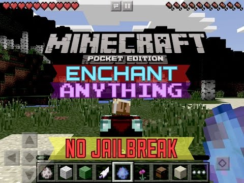 ✔️[0.12.1] (NO JAILBREAK) ENCHANT ANYTHING | {MCPE} How to add enchantments to anything Minecraft PE