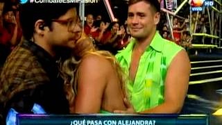 COMBATE: Alejandra Baigorria rompe en llanto y desiste de bailar con Pancho Rodríguez
