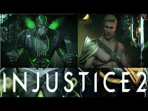 АКВАМЕН против БЕЙНА ! (кто кого) (2 боя) Injustice 2. CМЕРТЕЛЬНАЯ БИТВА !
