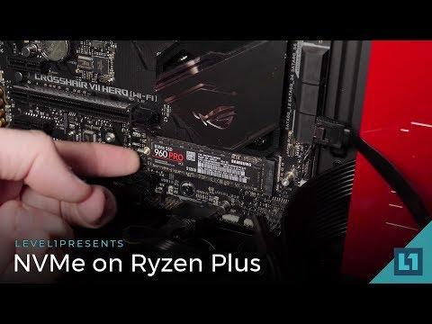NVMe RAID on the Asus Crosshair Hero VII w/Ryzen 2700X Setup Guide