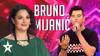 Bruno Mijanić needs more practice│Supertalent 2019│Auditions