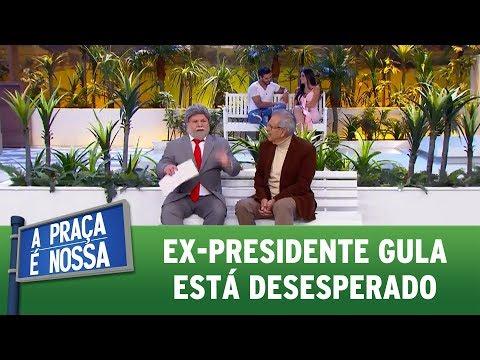Ex-presidente Gula está desesperado | A Praça É Nossa (03/08/17)