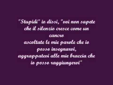 (Il Suono Del Silenzio) The Sound of Silence - Simon & Garfunkel