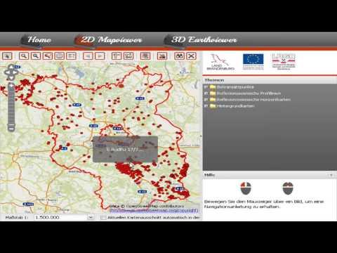 2014 - Daniel Koch: Brandenburg 3D - Geologische 3D-Untergrundmodelle im Browser