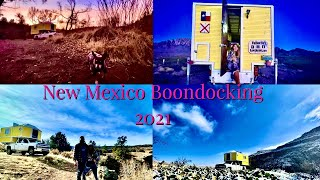 Boondocking through New Meאico 2021 #boondocking #freecamping #NewMexico