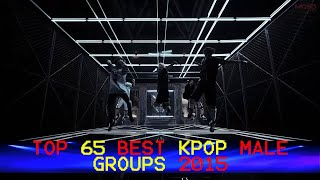 Top 65 Best KPop Boy Groups 2015 (The Best)