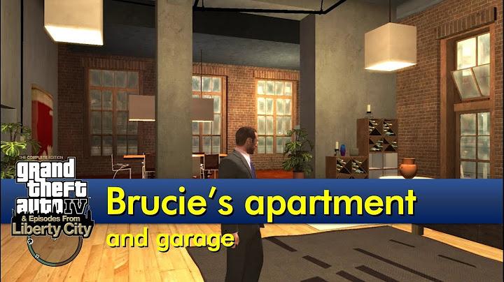 brucies garage and apartment the gta iv tourist
