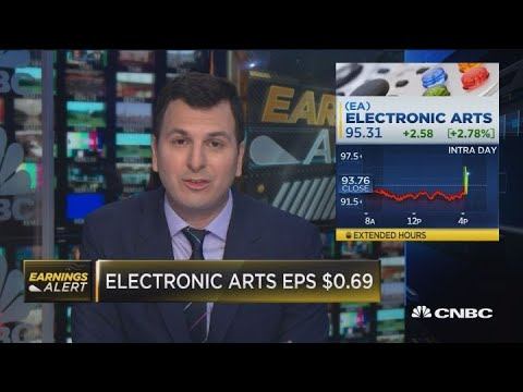 EA beats on revenue, issues better-than-expected guidance