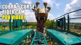 Cobras Curse Rider Cam POV Busch Gardens Tampa