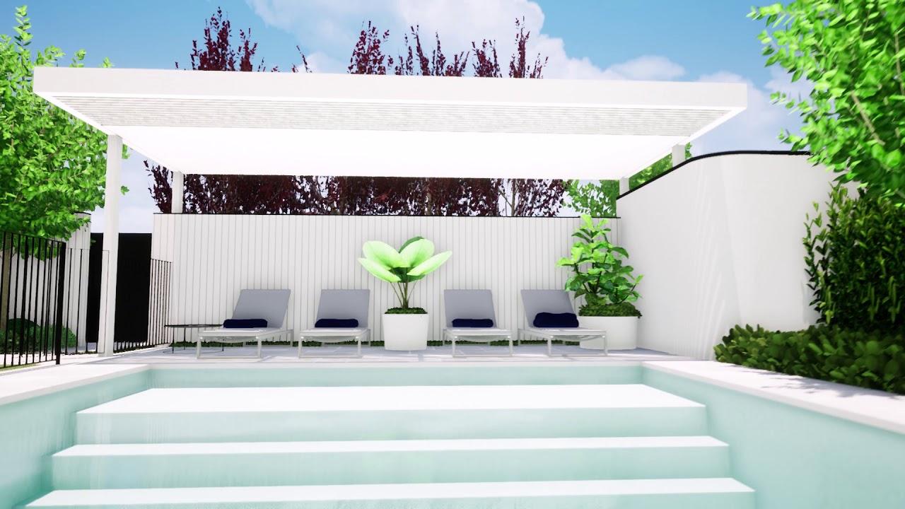Bicton Landscaping design by designer tristanpeirce Landscape Architecture Pool Garden landscaper