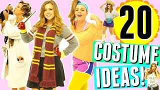 20 Last Minute Halloween Costume Ideas!