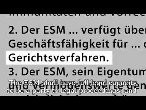 ESM The New European Dictator