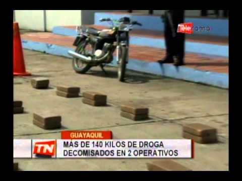 Más de 140 kilos de droga decomisados en 2 operativos