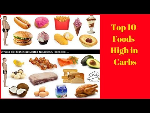 top 10 foods high in carbohydrates carbs top 10 foods