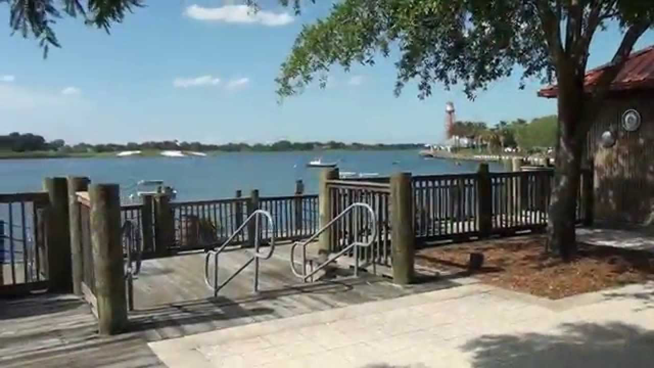 A Quick Tour Of Lake Sumter Landing In The Villages Florida