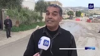 أعمال خط الغاز تزعج سكان المنشیة بالأغوار الشمالیة في الأردن - (23-1-2019)