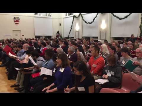 Oh Holy Night - in rehearsal with The Washington Chorus